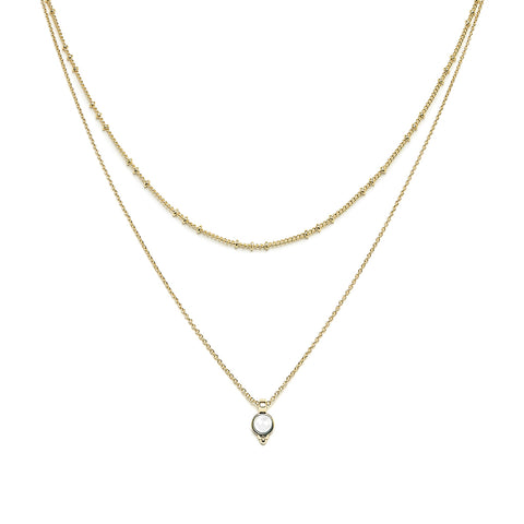 Hania gold necklace - Emma & Chloe