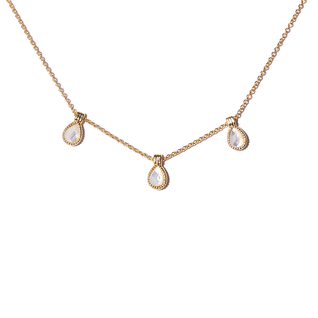 Hasna Gold Necklace - Emma & Chloe
