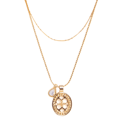 Hellen Gold Necklace - Emma & Chloe