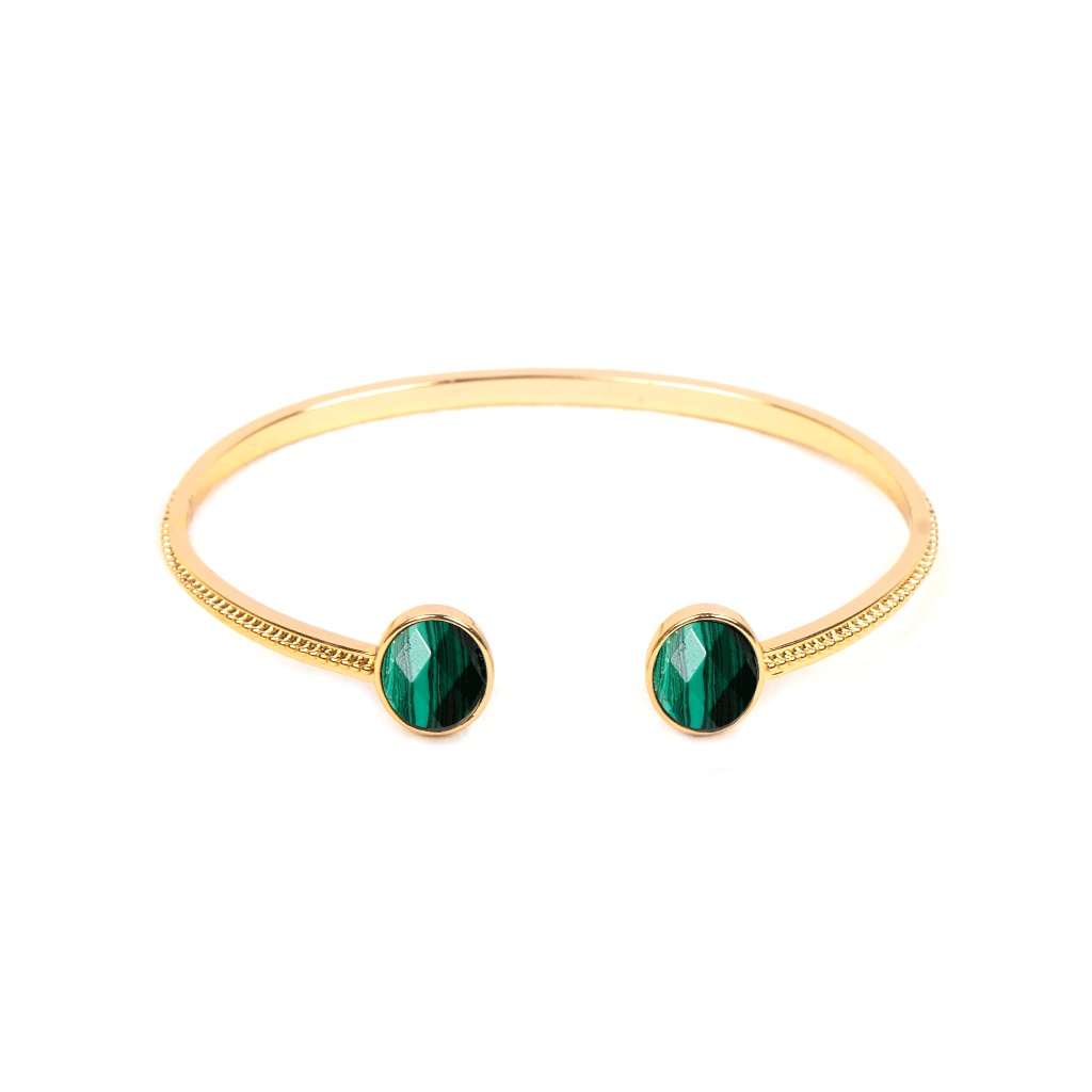 Houria Gold Bangle - Emma & Chloe