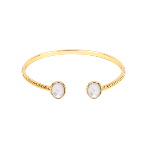 Houria Gold Bangle