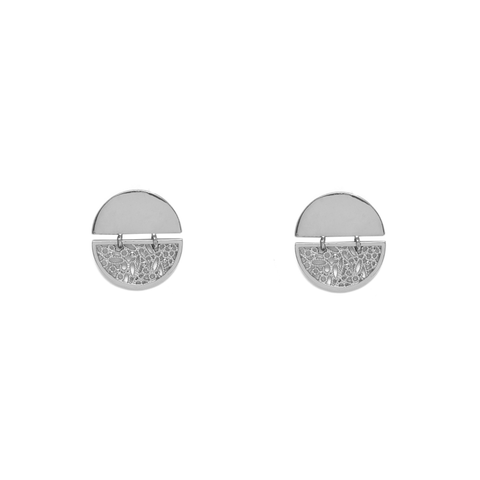 Infini Silver Earrings - Emma & Chloe