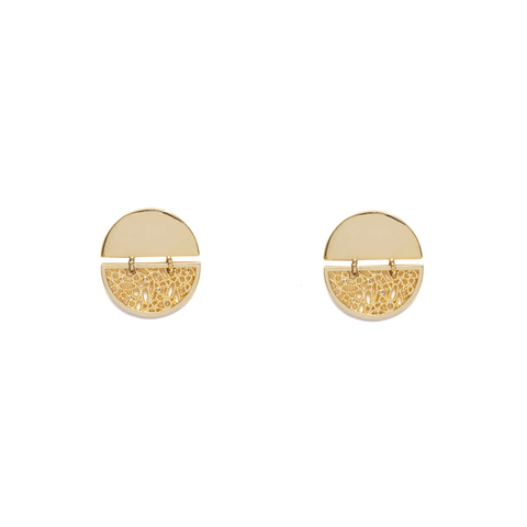 Infini Gold Earrings - Emma & Chloe