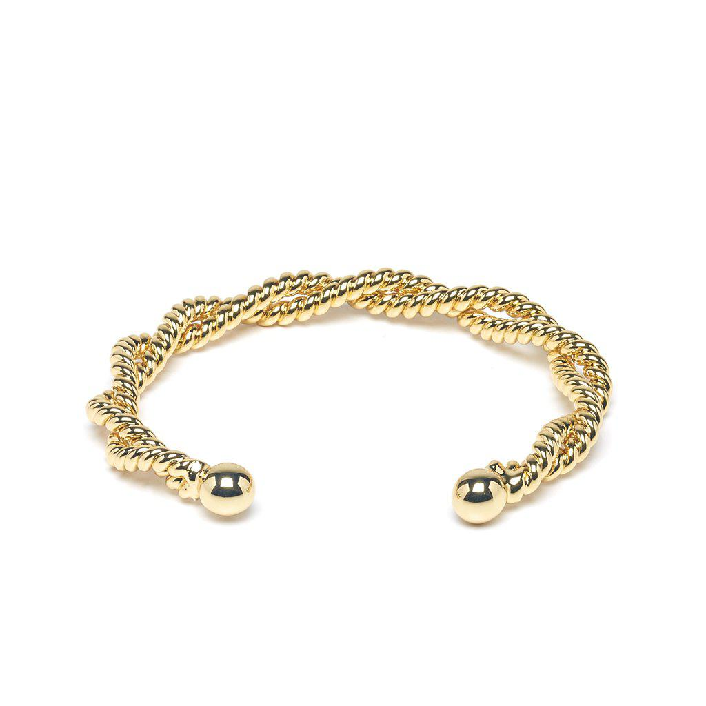 Amance Gold Bangle - Emma & Chloe
