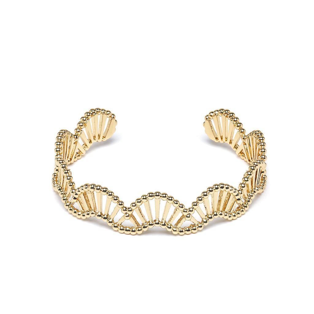 Dorinne Gold Bangle - Emma & Chloe