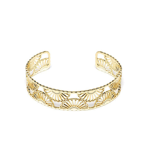 Mélissandre Gold Bangle - Emma & Chloe