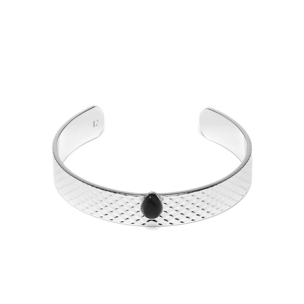 Sandrine Silver Bangle - Emma & Chloe