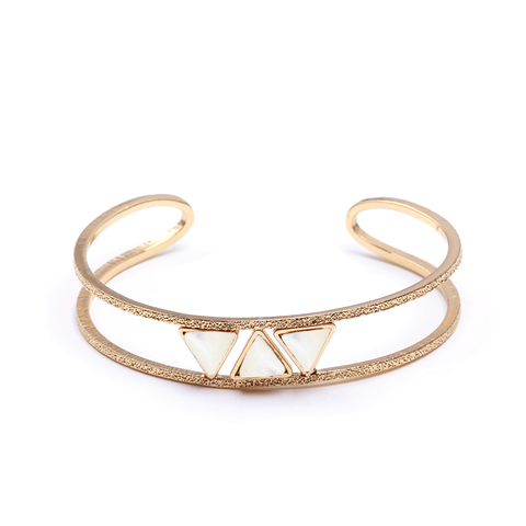 Laetitia Gold Bangle - Emma & Chloe