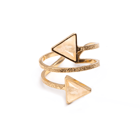 Lauriane Gold Ring - Emma & Chloe