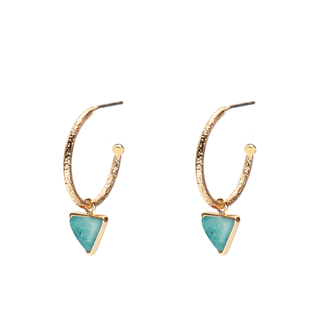 Leila Gold Earrings - Emma & Chloe