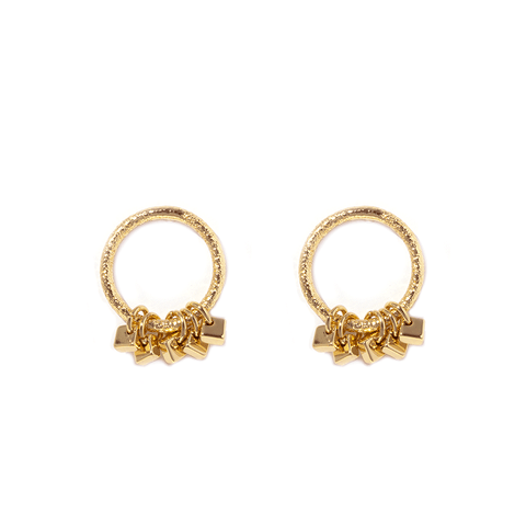 Lisie Gold Earrings - Emma & Chloe