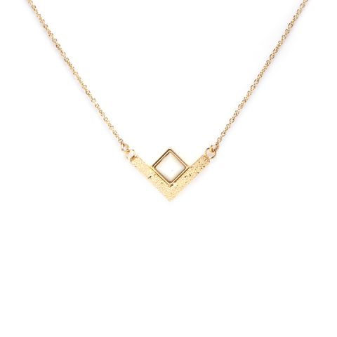 Lison Gold Necklace - Emma & Chloe