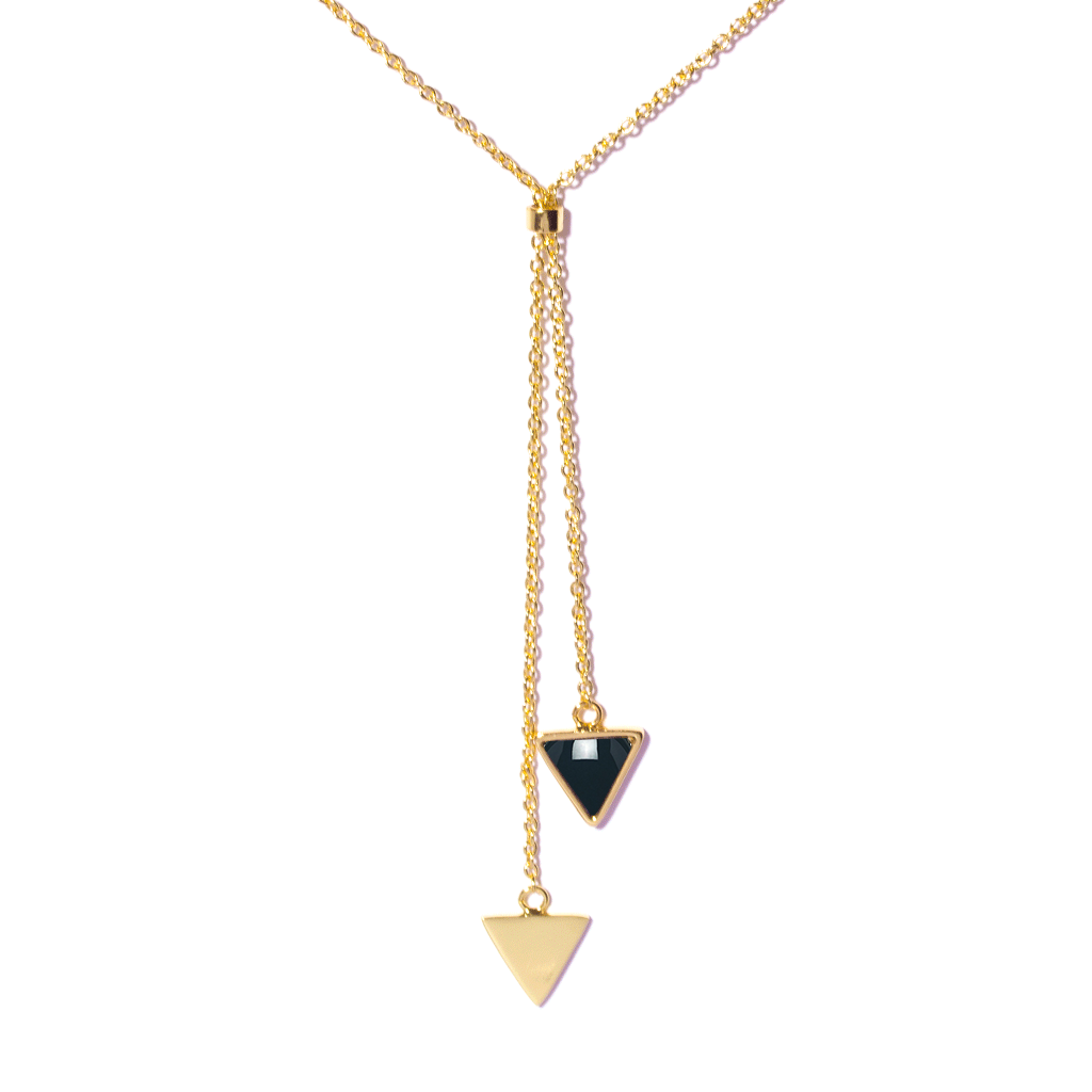 Lorie Gold Necklace - Emma & Chloe