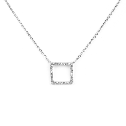 Louisa Silver Necklace - Emma & Chloe