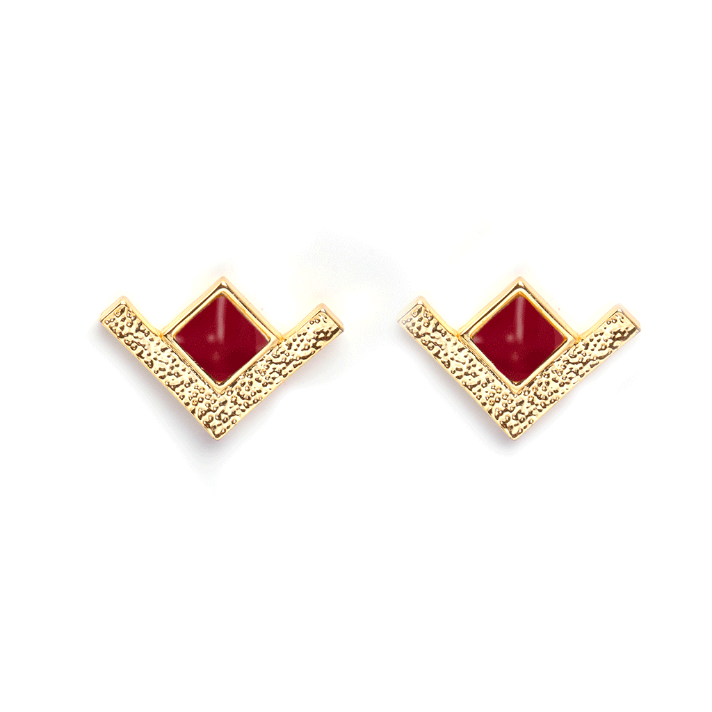 Lou Gold Earrings - Emma & Chloe