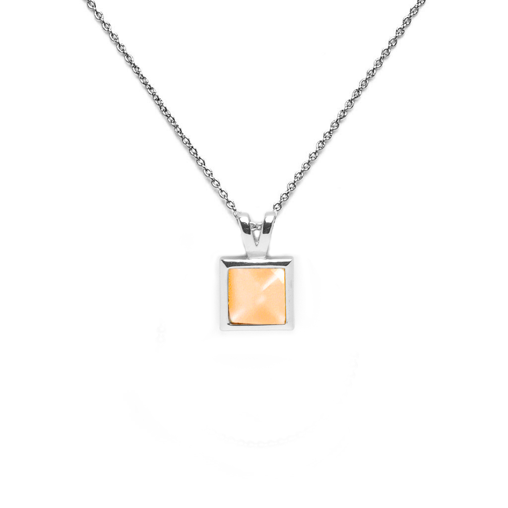 Lucile Silver Necklace - Emma & Chloe
