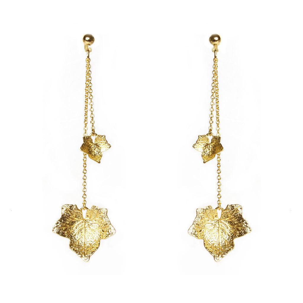 Ocala Gold Earrings - Emma & Chloe