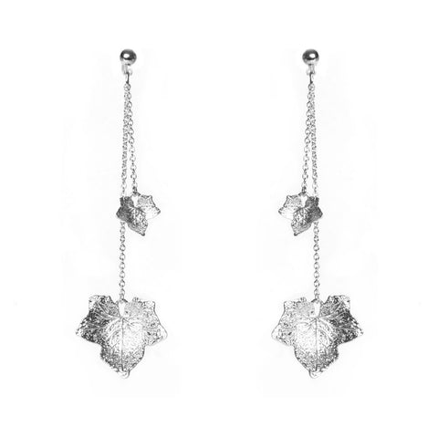 Ocala Silver Earrings - Emma & Chloe
