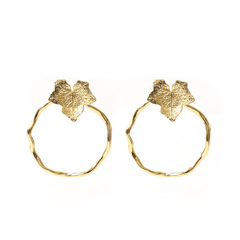 Oma Gold Earrings - Emma & Chloe