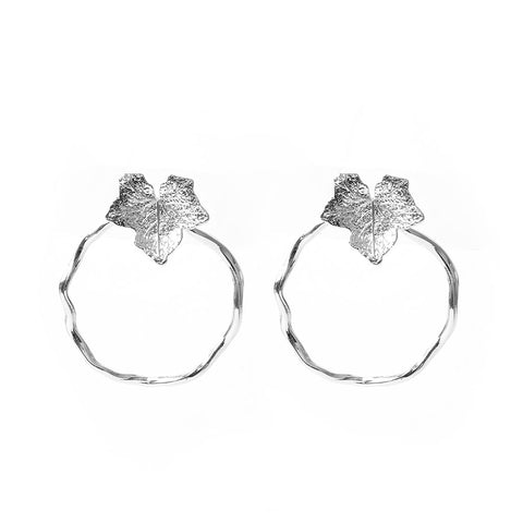 Oma Silver Earrings - Emma & Chloe