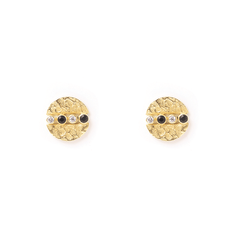 Rever Gold Earrings - Emma & Chloe