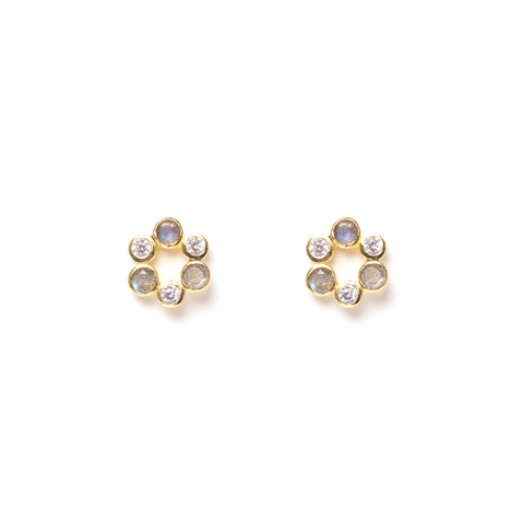 Senes Gold Earrings - Emma & Chloe
