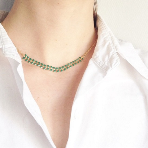 The Bay Necklace- February 2015 Box - Emma & Chloe