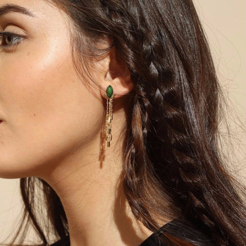 Irina Earrings - April 2016 - Emma & Chloe