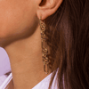 Udu Gold Earrings - Emma & Chloe