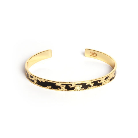 Artemis onyx bangle - Emma & Chloe