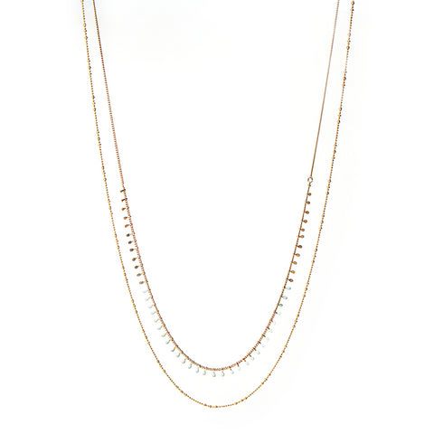 Audrey Long Necklace - Emma & Chloe