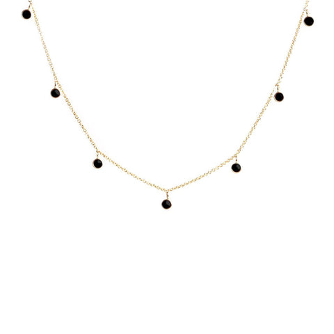 Hera onyx necklace - Emma & Chloe