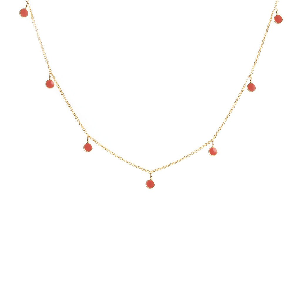 Hera terracotta necklace - Emma & Chloe