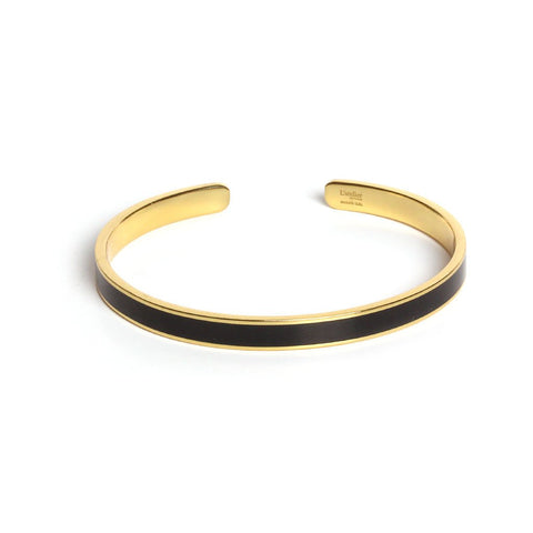 Olympe onyx bangle - Emma & Chloe