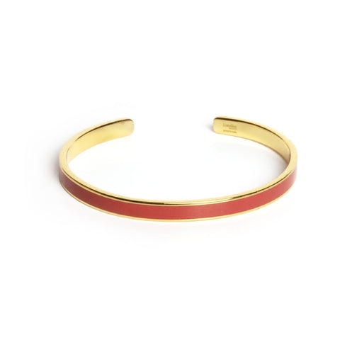 Olympe terracotta bangle - Emma & Chloe