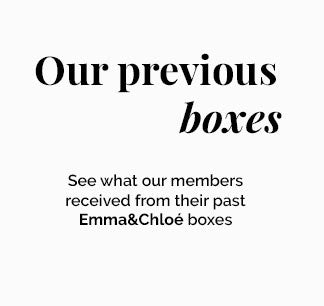 Previous box- Example - Emma & Chloe