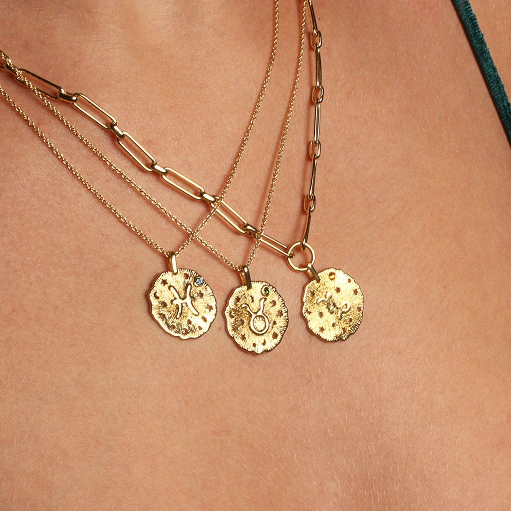 Pisces Thin Necklace - Emma & Chloe