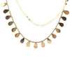 Nacre And Pink Gold Necklace - Emma & Chloe