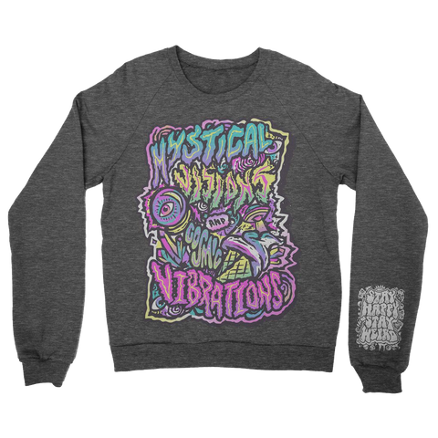 Mystical Visions - Dark Heather LIMITED Crew Sweatshirt
