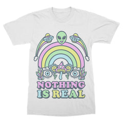Nothing Is Real - Cloud White Shirt