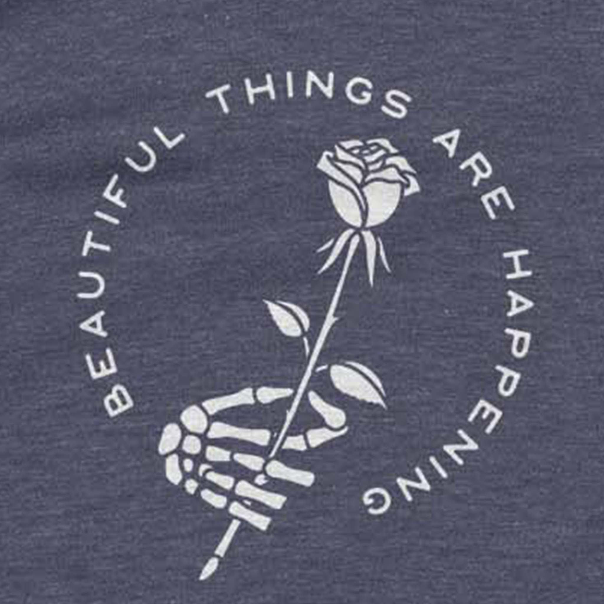 Beautiful Things - Bone Navy Shirt