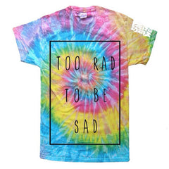 Too Rad To Be Sad - Classic Saturn Shirt