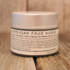 Honey-Clay Face Mask|Masque Miel-Argile