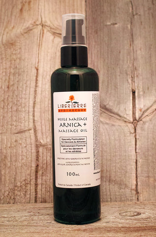 Arnica + Massage Oil|Huile de Massage Arnica +