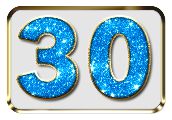 30 Years - Milestone Birthday