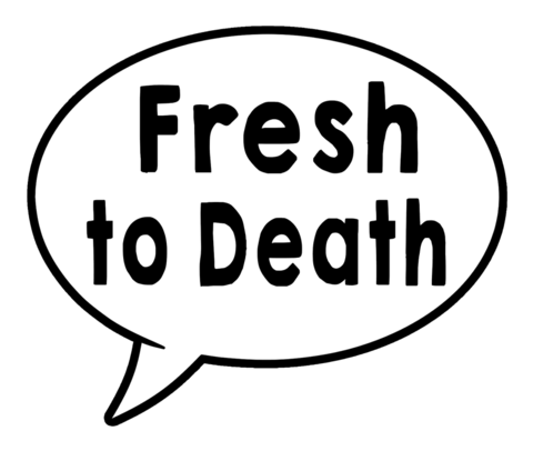 G Thang/Fresh to Death Speech Bubble