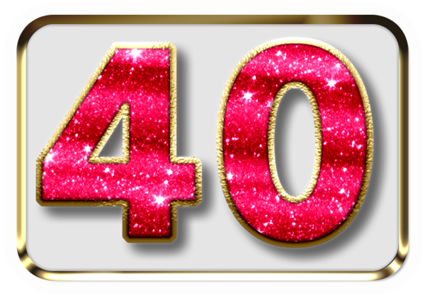 40 Years - Milestone Birthday