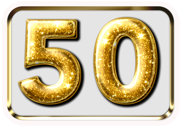 50 Years - Milestone Birthday