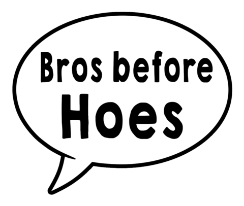 Bros/Sisters Speech Bubble