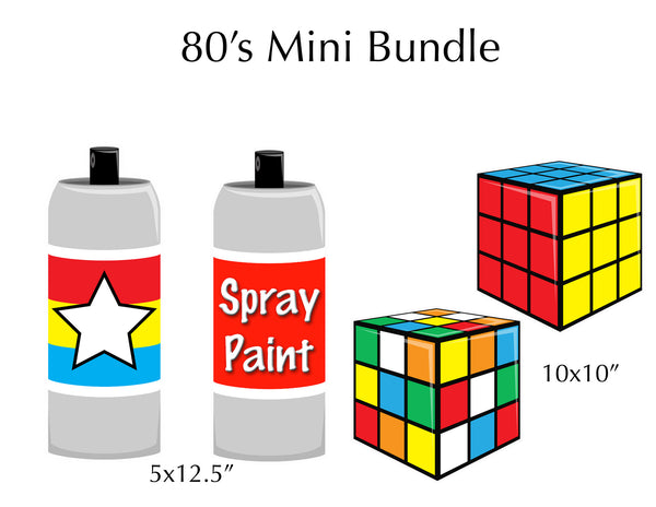 80's Oversized Mini Bundle